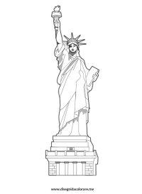 Statua della Libert  New york | Disegni da colorare