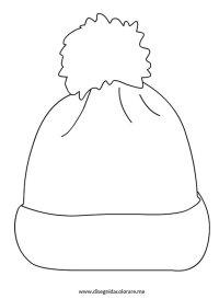 Cappello di lana | Disegni da colorare