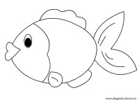 Immagini da colorare pesciolini 24 disegni pesciolini da for Immagini pesciolini
