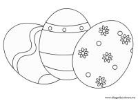 Uovo Di Pasqua Da Stampare OQ77  Regardsdefemmes