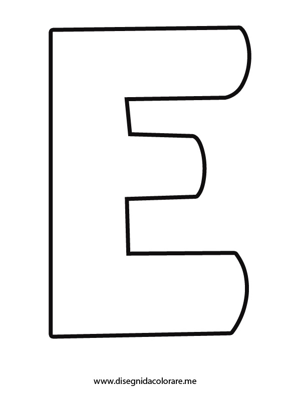 Alfabeto Stampatello Minuscolo Disegni Per Bambini Da