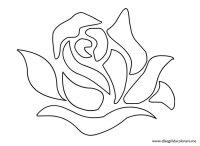 Immagini stencil fiori da stampare - Imagui