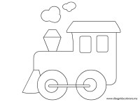 Disegno locomotiva