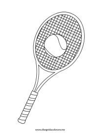 Tennis   Disegni da colorare