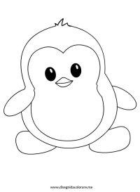 Disegni per bambini  Pinguino   Disegni da colorare