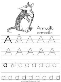Disegno esercizi_scrittura_01 categoria alfabeto da colorare