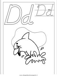 Disegno esercizi_scrittura_51 categoria alfabeto da colorare
