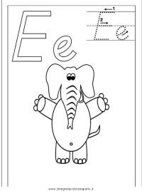 Disegno esercizi_scrittura_52 categoria alfabeto da colorare