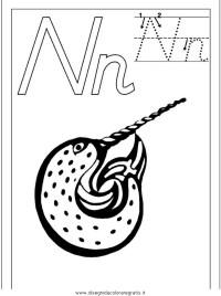 Disegno esercizi_scrittura_61 categoria alfabeto da colorare