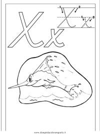 Disegno esercizi_scrittura_71 categoria alfabeto da colorare