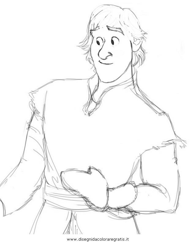 Disegno Frozen Olaf 33 Personaggio Cartone Animato Da