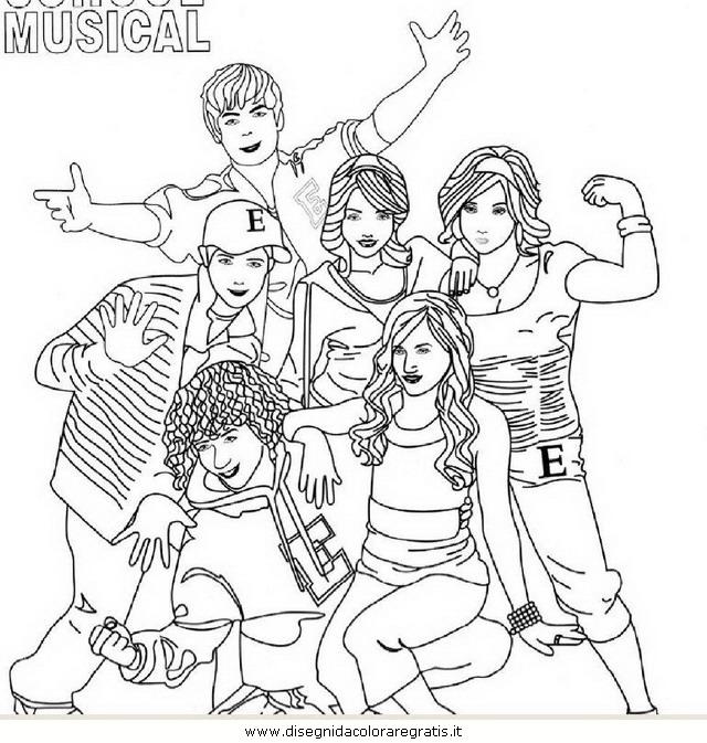Disegno high_school_musical_02: personaggio cartone