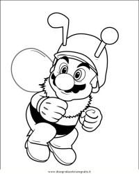 Disegno mario_bros_14: personaggio cartone animato da colorare
