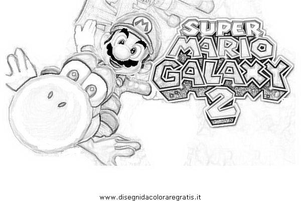 Disegno super_mario_galaxy_4: personaggio cartone animato