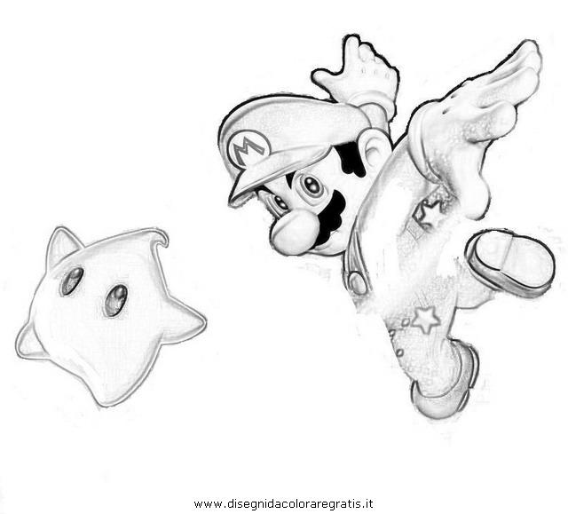 Disegno super_mario_galaxy_6: personaggio cartone animato