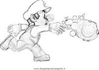 Disegno super_mario_ghiaccio: personaggio cartone animato ...