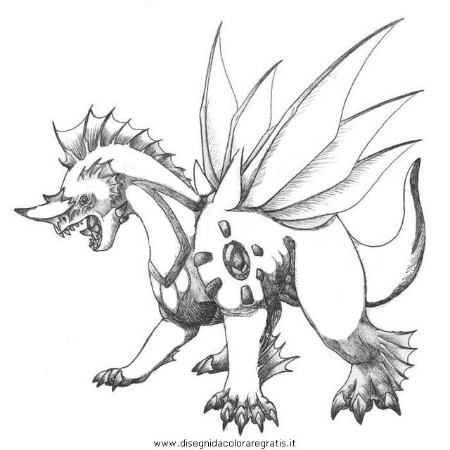Palkia pokemon coloring page