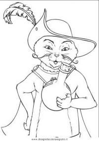 Disegno shrek_15: personaggio cartone animato da colorare