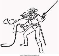 Zorro Maschera Da Colorare Maschera Di Zorro Da Ritagliare