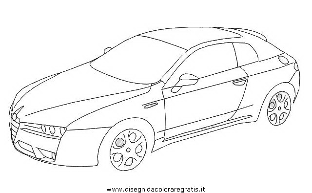 Disegno Alfa_Romeo_Brera categoria mezzi_trasporto da colorare