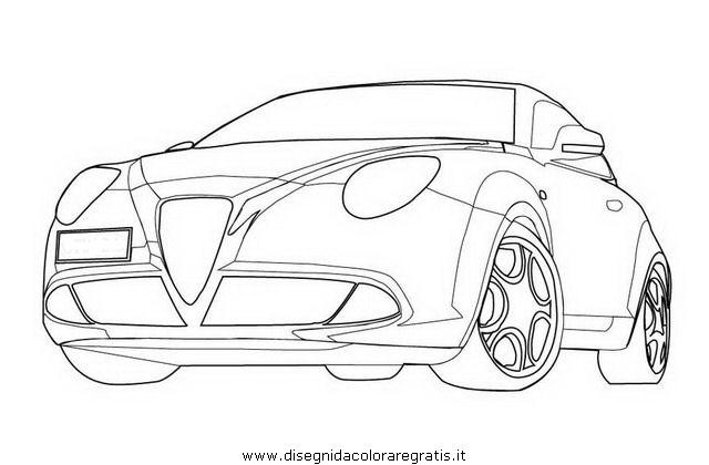 Disegno Alfa_Romeo_Mito categoria mezzi_trasporto da colorare