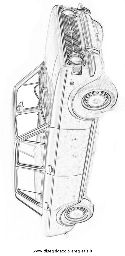 Disegno Fiat-128 categoria mezzi_trasporto da colorare