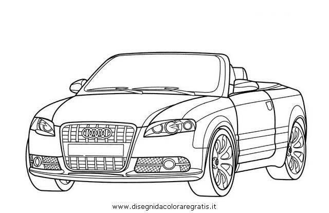 Disegno audi_s4_cabriolet categoria mezzi_trasporto da