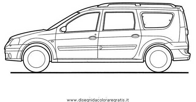 Disegno dacia-logan categoria mezzi_trasporto da colorare