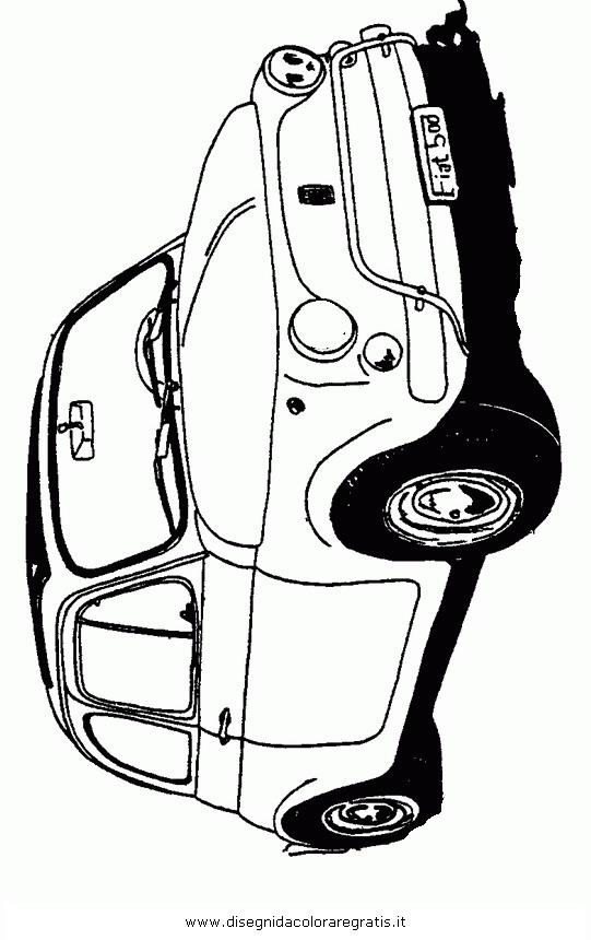 Disegno auto-fiat-500 categoria mezzi_trasporto da colorare