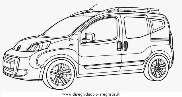 Disegno fiat_fiorino_cubo categoria mezzi_trasporto da
