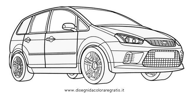 Disegno ford_c_max categoria mezzi_trasporto da colorare
