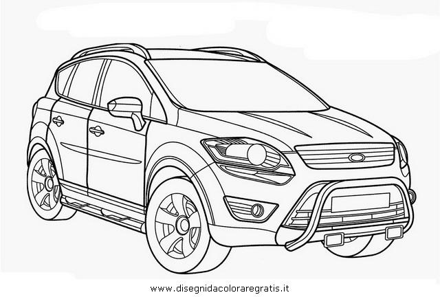 Disegno ford_kuga categoria mezzi_trasporto da colorare