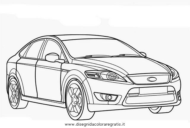 Disegno ford_mondeo categoria mezzi_trasporto da colorare