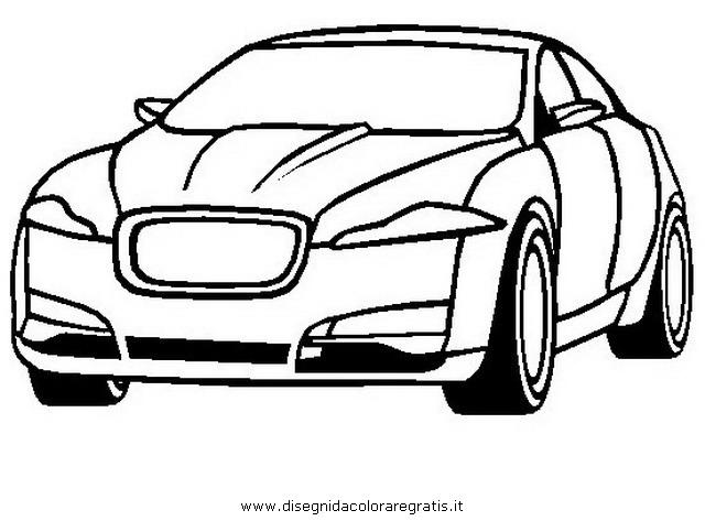 Disegno jaguar-xf categoria mezzi_trasporto da colorare