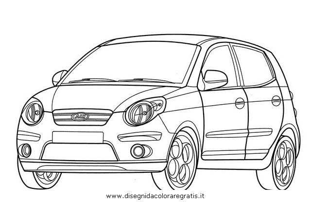 Disegno kia_picanto categoria mezzi_trasporto da colorare