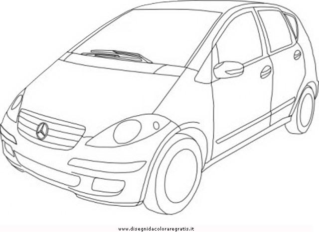 Disegno mercedes_benz_class_a categoria mezzi_trasporto da