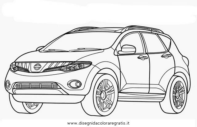 Disegno nissan_murano categoria mezzi_trasporto da colorare