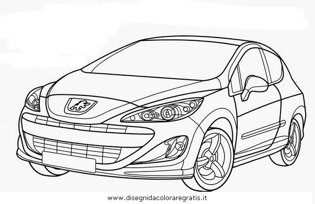 Disegno peugeot_307gt categoria mezzi_trasporto da colorare