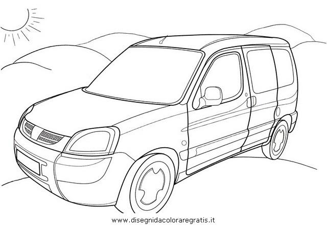 Disegno peugeot_partner categoria mezzi_trasporto da colorare