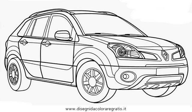 Disegno renault_koleos categoria mezzi_trasporto da colorare