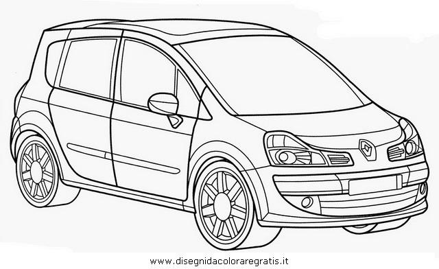 Disegno renault_modus categoria mezzi_trasporto da colorare