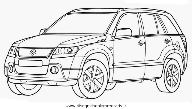 Disegno suzuki_granvitara categoria mezzi_trasporto da