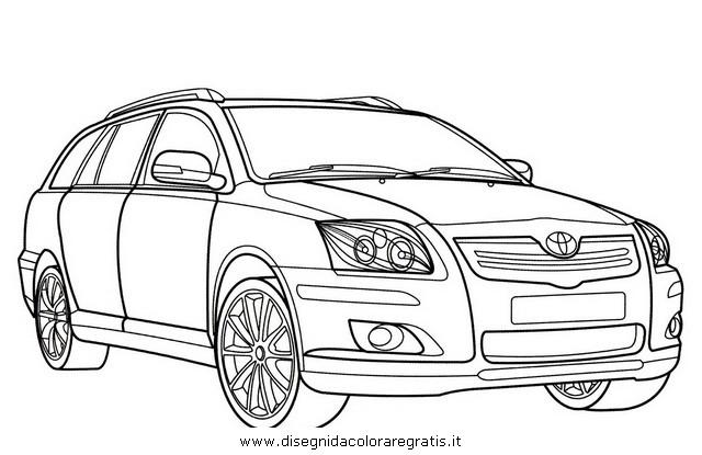 Disegno toyota_avensis categoria mezzi_trasporto da colorare