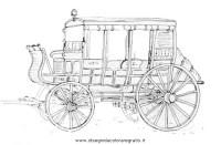 Disegno carrozza_18 categoria mezzi_trasporto da colorare