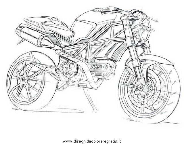 Disegno Ducati_monster categoria mezzi_trasporto da colorare