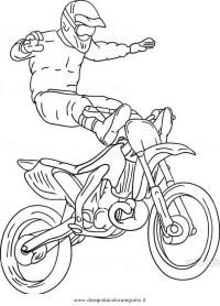 Disegni Di Moto Cross Da Colorare E Stampare