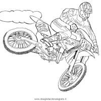 Disegni Di Moto Cross Da Colorare E Stampare Disegni Motocross