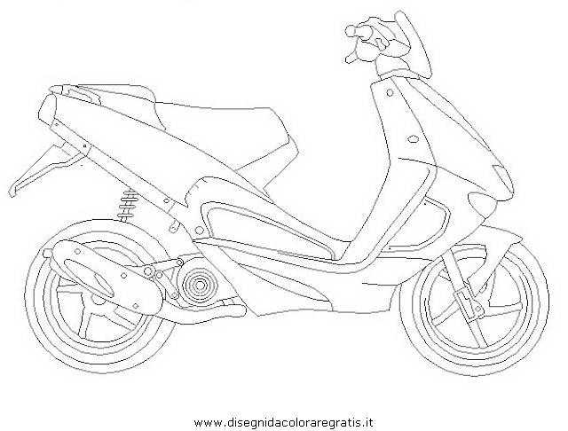 Disegno scooter_aprilia_srnieuw categoria mezzi_trasporto