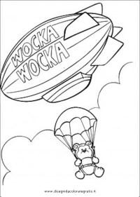 Disegno paracadute_04 misti da colorare