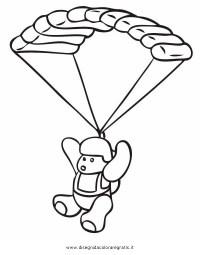 Disegno paracadute_05 misti da colorare